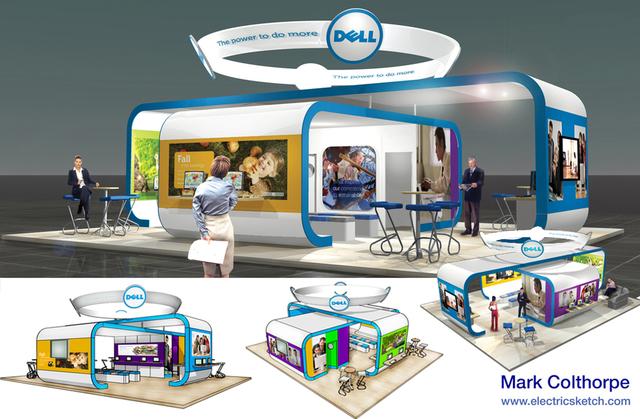 Dell European Trade Stand