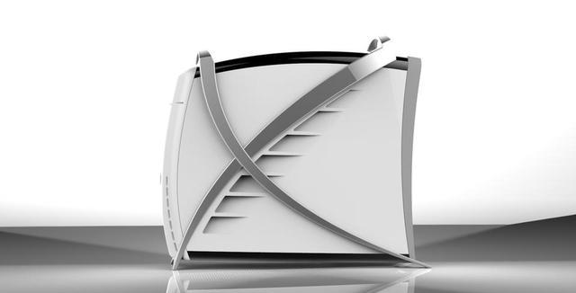 Computer case concept