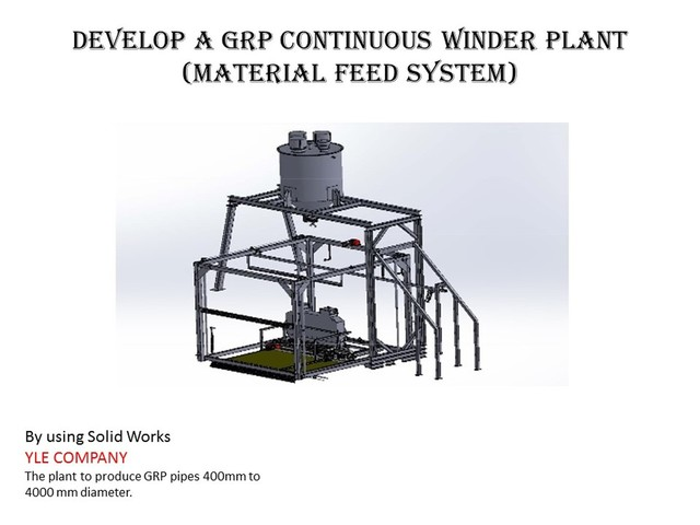 GRP Continuous Winder Plant (part 3)