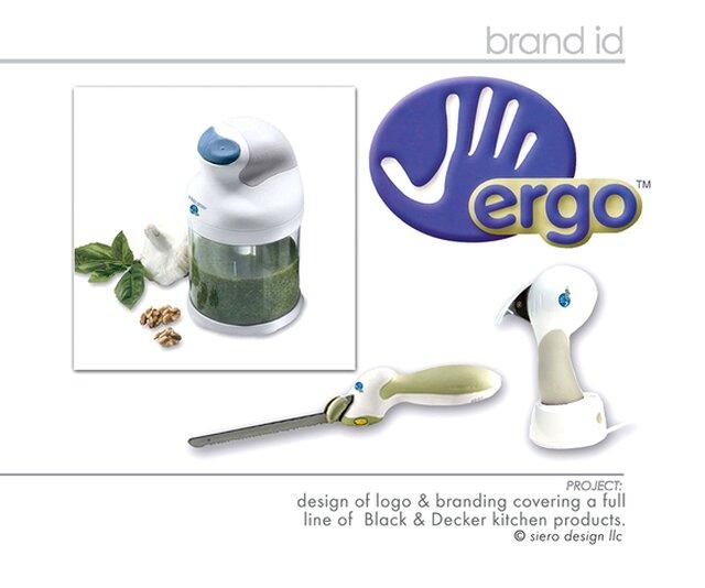 ERGO Housewares Product Line  logo