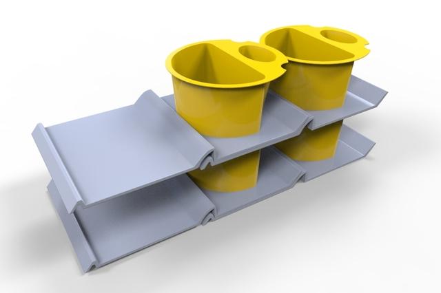 Split cup redesign - MEVGAL
