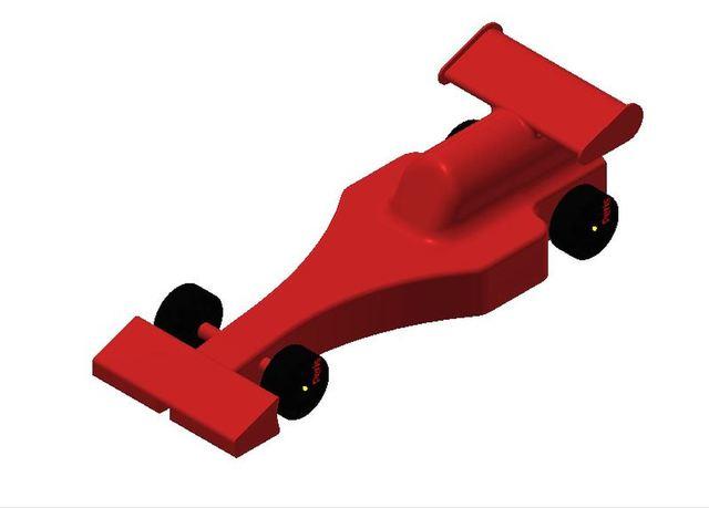 Miniature Race Car