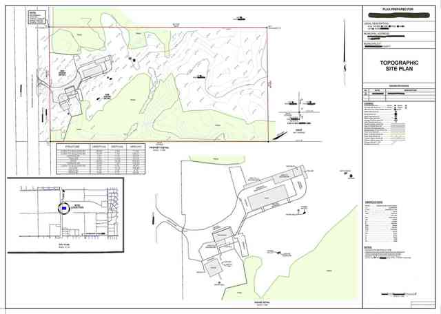 Topographic Site Plan