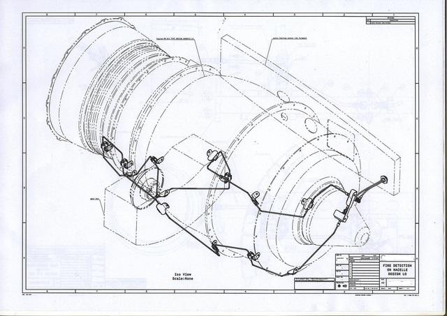 Aircraft Engine Fire Detech