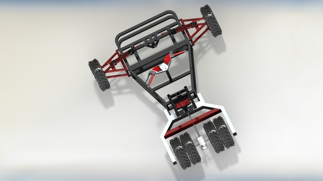 Mechanical linkage Buggy