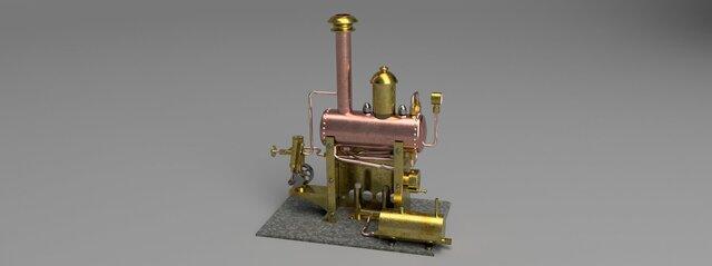 Stationary Steam Plant