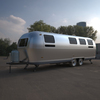 Airstream caravan trailer