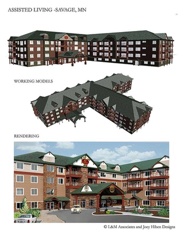 Assisted Living 3D Models