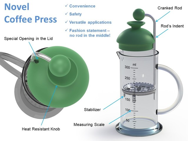 The Crank-Press, evolution of the Coffee Press