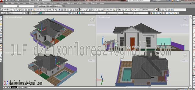 Bungalow House (Layout)