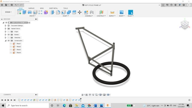 cycle-frame