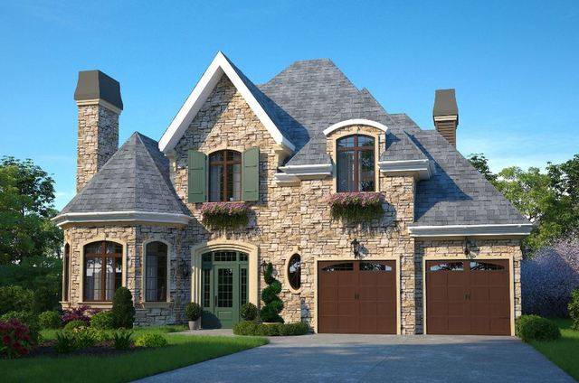 3D visualization_ Exterior rendering