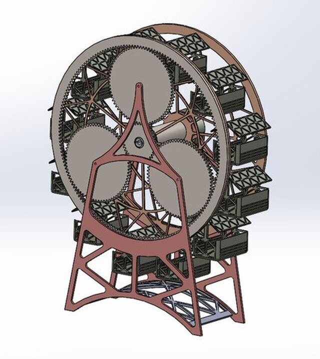 Planetary Gear Ferris Wheel