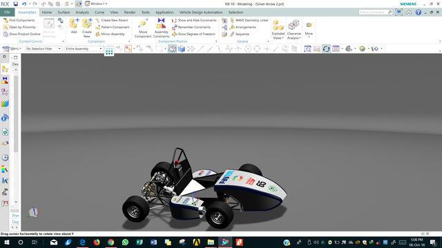 Formula Student racecar