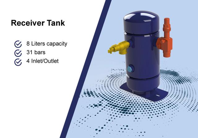 Receiver Tanks