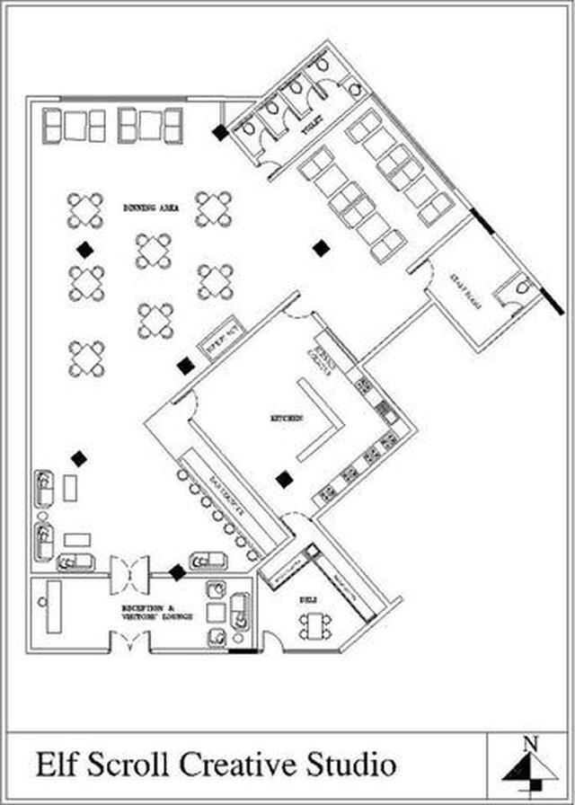restaurants floor plan