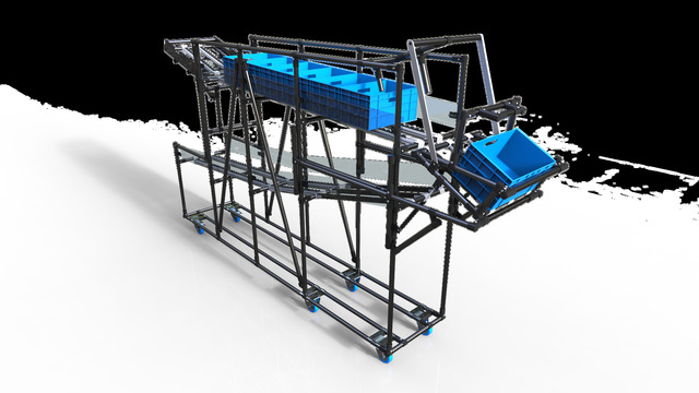 Material Handling Project (Automotive Sector)