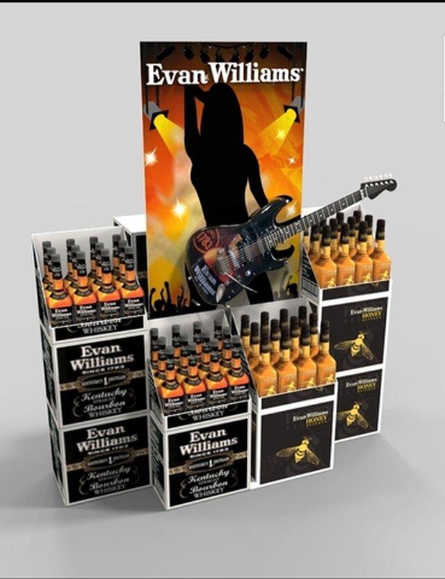Evan Williams Mass Merchandiser