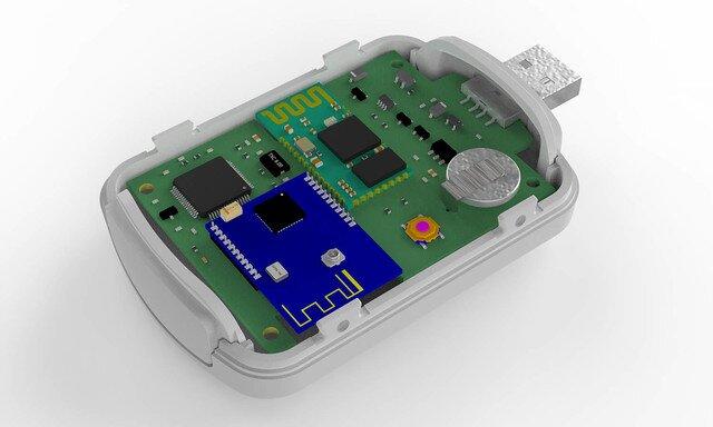 USB WiFi BLE temperature module sensor