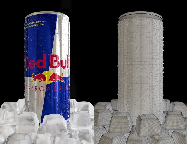 Red Bull with Ice