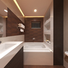 Bathroom Project Interior Architectural 3D Rendering Services Los Angeles, California