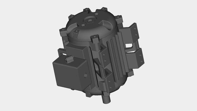 INDUCTION MOTOR 8.5HP B3