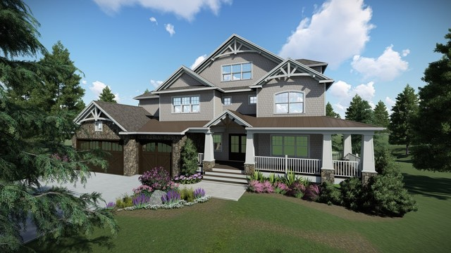 House Rendering for a recent client