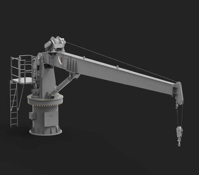 Fixed Boom Crane 30kN x 11 m