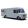 FedEx Ground Delivery Step Van