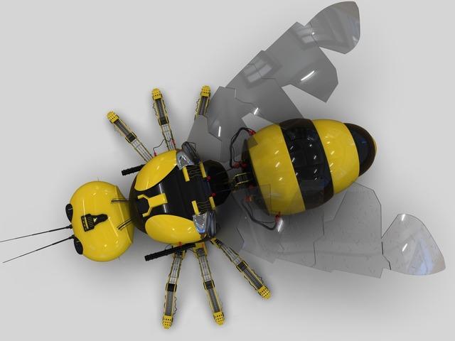 Mechanical Bee model