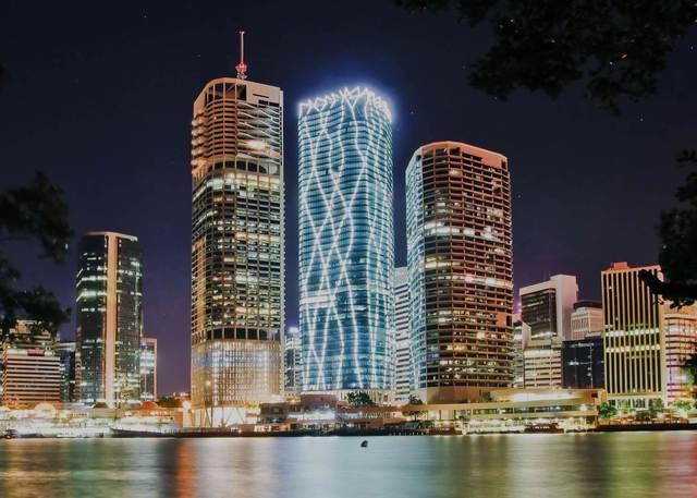 111 eagle street, Brisbane: Cooling strategy
