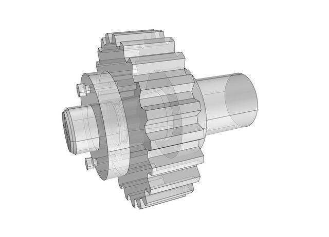 conical insert machine elements