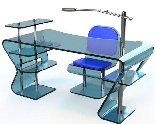 Neo-Plastic Desk