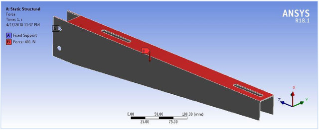 TOPOLOGY OPTIMISATION OF SPLIT AC CONDENSER BRACKET THROUGH CAE