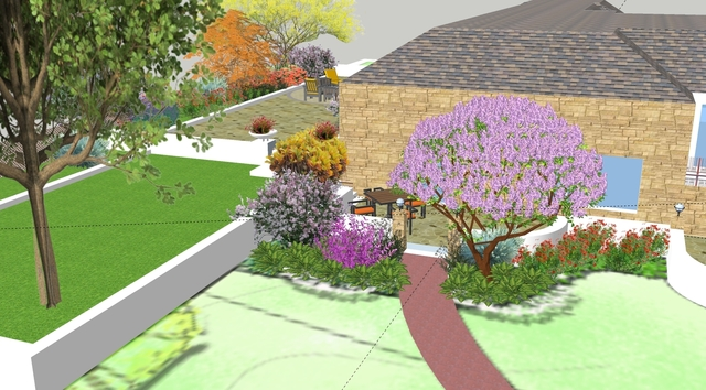 Landscape Design for a residence in New Jersey