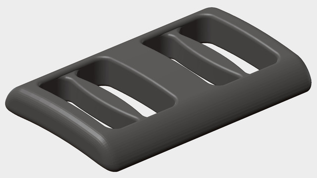 3d Printable Bandana Fask Mask Clip
