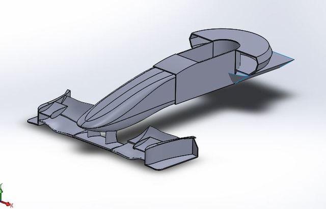 F1 Car Modelling.