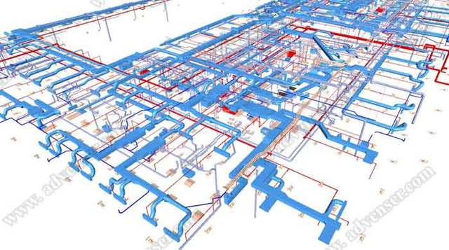 MEP/ HVAC BIM services