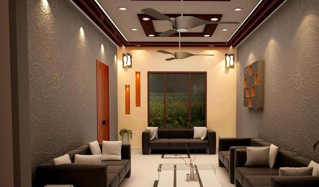 3D Interior Design of a Drawing Room