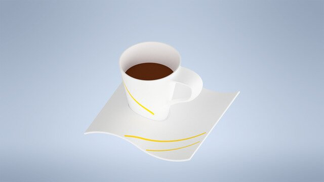 Stylish Coffee Cup Design