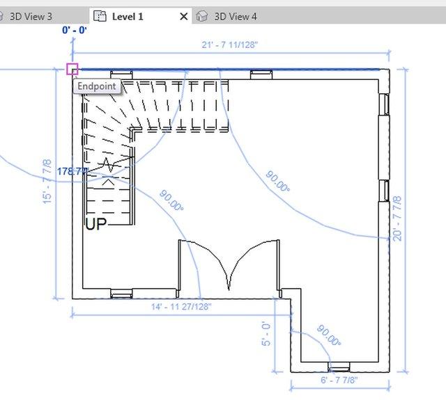 Revit 3D Commercial space House Design with Plan