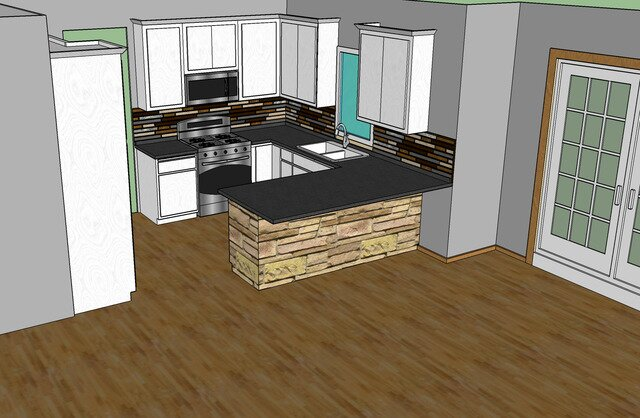 Kitchen Remodel Interior Concept