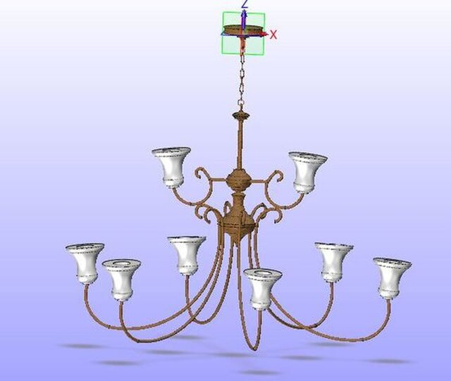 ceiling lamp sample