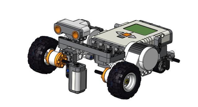 Lego NXT Line Follower