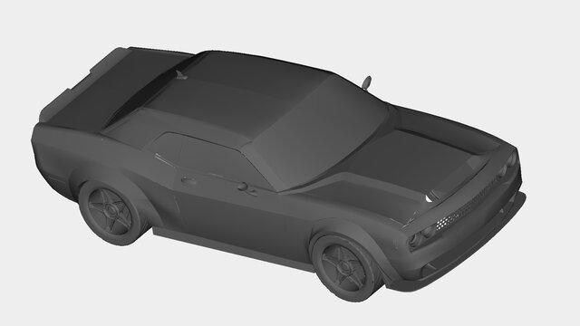 Dodge Demon Charger SRT(2017)