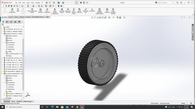 R.C car wheel
