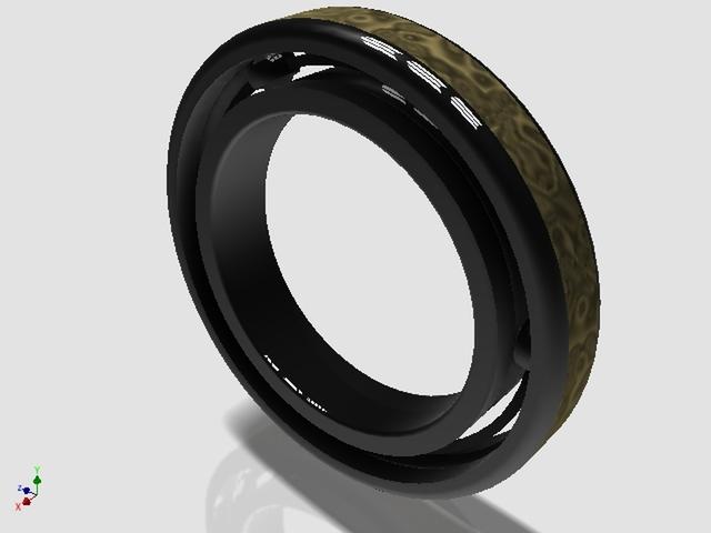 Ball-bearing ring ideea