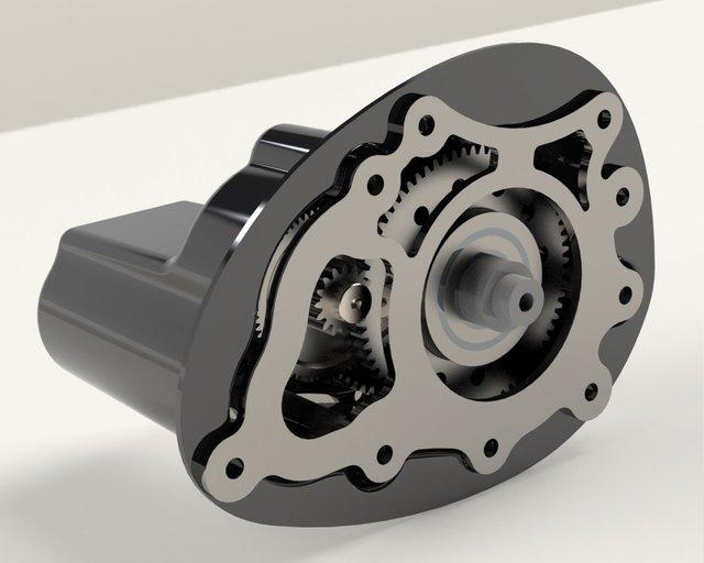 Electric Starter Engine Honda 35cc