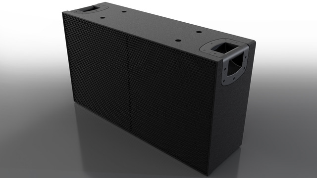Professional Audio system product mechanical design.