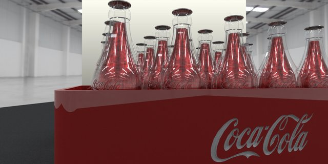 coca-cola bottle carrier